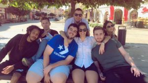 Fotky z mládežníkcje výmeny v Nitre Ctrl-Job-Alt